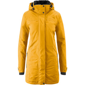 Maier Sports Lisa 2.1 Cappotto Donna, giallo